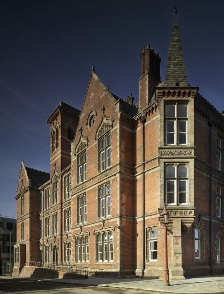 The restoration of the Victorian building shows the potential of the Edwardian building.